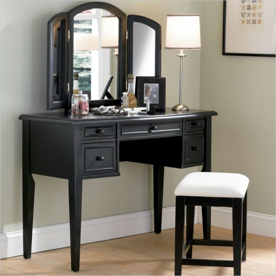 Simple Elegant Bathroom Designs: 51 Makeup Vanity Table Ideas