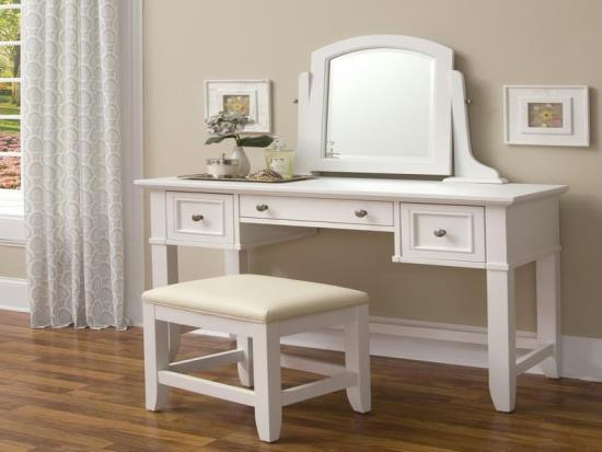 Makeup vanity table ideas