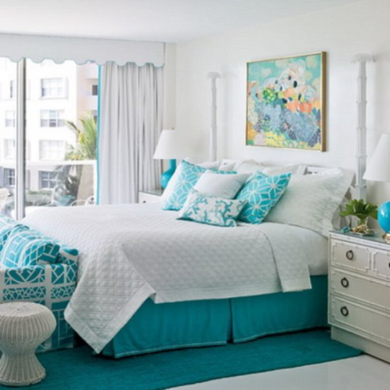 aqua bedroom decor 45 guest bedroom ideas small guest room decor ideas 10087