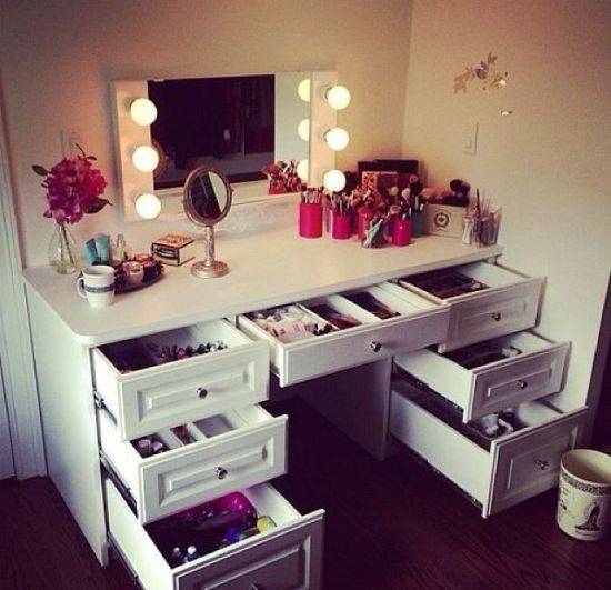 Makeup Dresser Ideas Entrancing 51 Makeup Vanity Table Ideas  Ultimate Home Ideas 2017