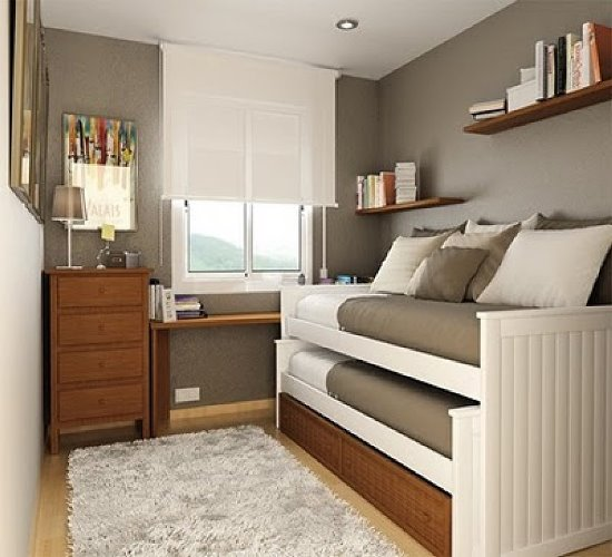 Very Small Guest Bedroom Design. bedroom ideas