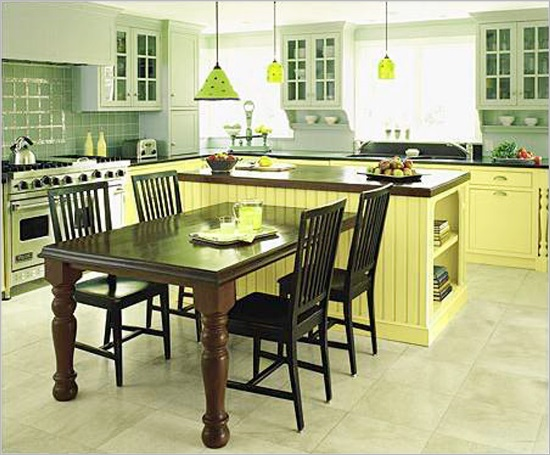 kitchen table island combo 50 beautiful kitchen table ideas ultimate home ideas 6215