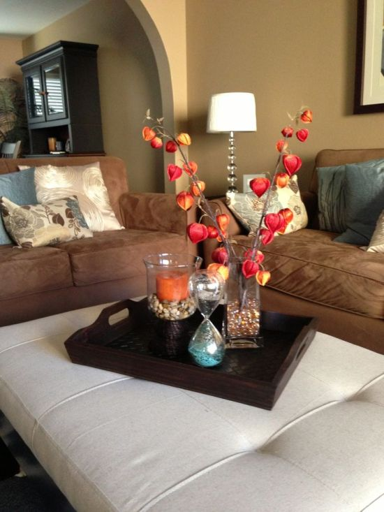living room table centerpiece ideas modern house