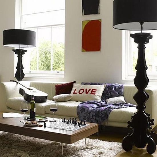 50 floor lamp ideas for living room ultimate home ideas. Black Bedroom Furniture Sets. Home Design Ideas