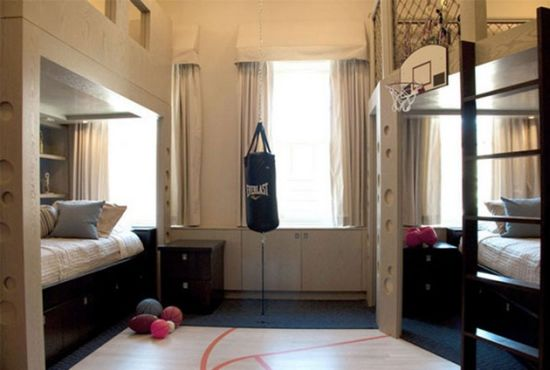 50 sports bedroom ideas for boys ultimate home ideas for Boxing bedroom ideas
