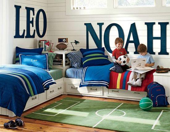 Boy Bedroom Decor Ideas Sports E