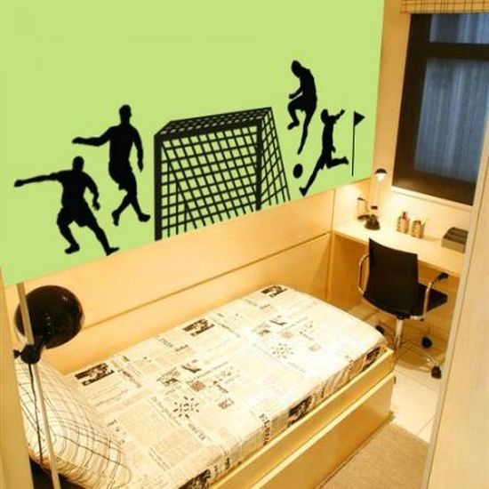 Wall Decor For Guys Room : Sports bedroom ideas for boys ultimate home