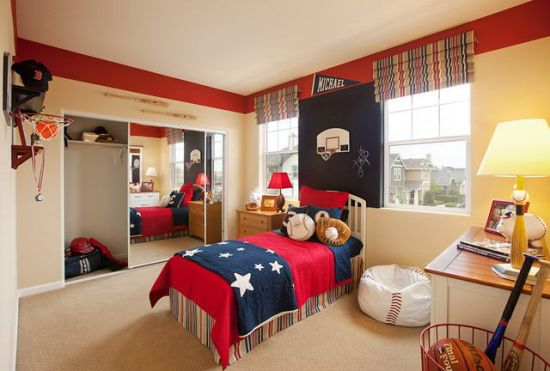 Good Sports Bedroom Ideas