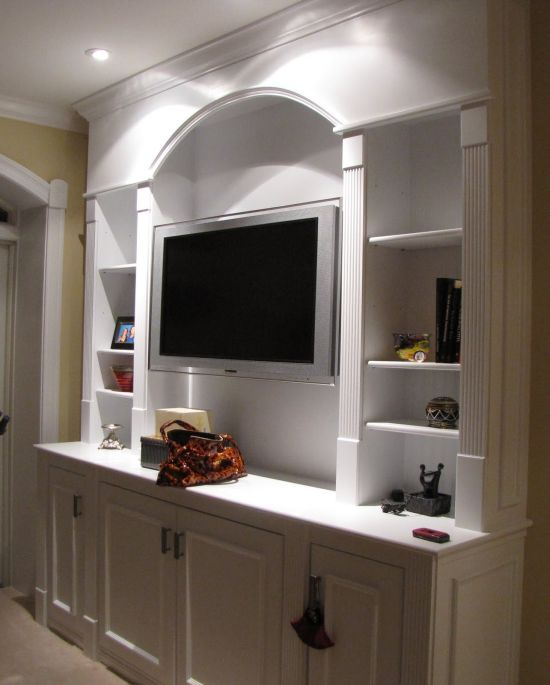 55 cool entertainment wall units for bedroom for Elegant wall units