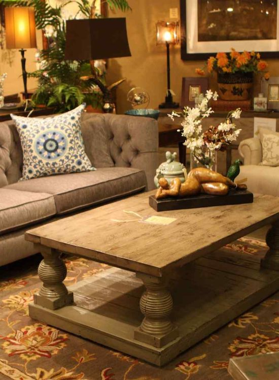 Centre Table Designs For Living Room: 51 Living Room Centerpiece Ideas