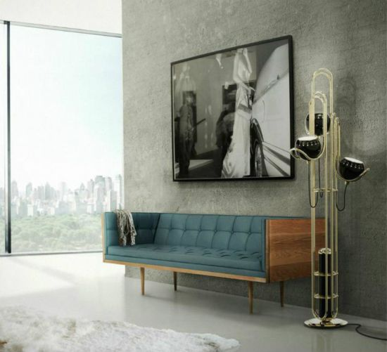Brass For Living Room Floor Lamps