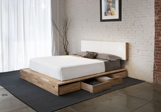 Lovely Modern Platform Bed