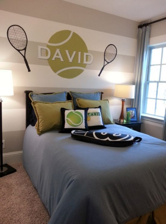 Sports Bedroom Decor Wall