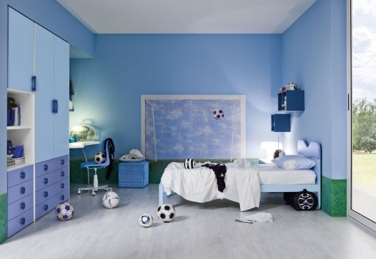 Ordinaire Soccer Themed Boys Bedroom Ideas. Boys Bedrooms