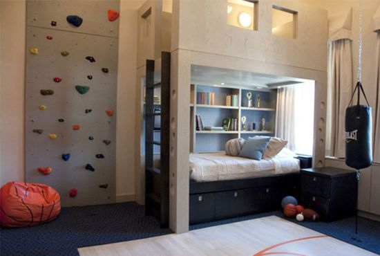 Source · 50 Sports Bedroom Ideas For Boys Ultimate Home Ideas