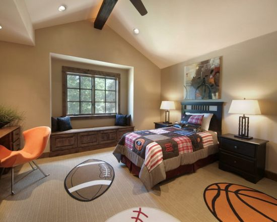 Sports Themed Bedroom Pictures Gallery