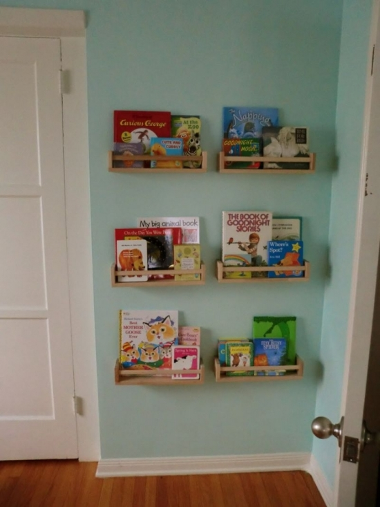 50 creative diy bookshelf ideas ultimate home ideas How to store books in a small bedroom