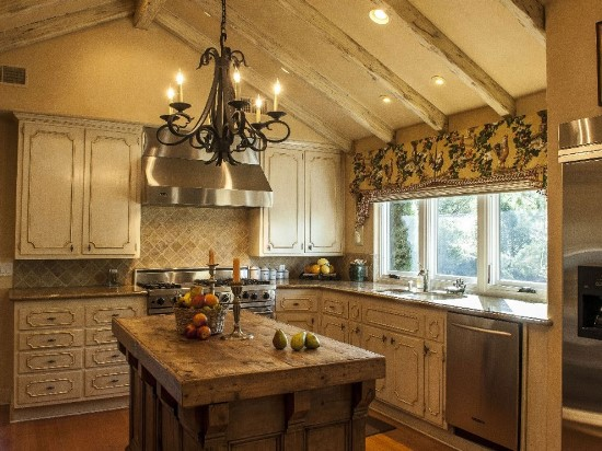 kitchen island ideas - Rustic Kitchen Island Ideas