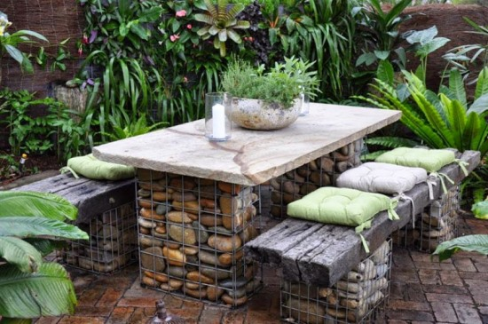 garden furniture decor