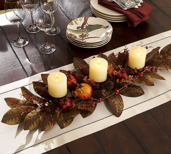 50 thanksgiving decoration ideas ultimate home ideas for Thanksgiving centerpieces with candles