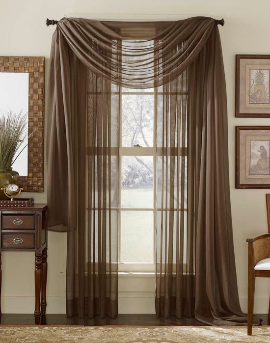 Sheer curtain ideas