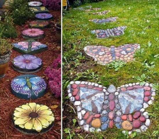 garden decor ideas - Garden Ideas Using Stones