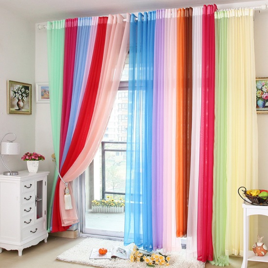 Sheer window curtain ideas