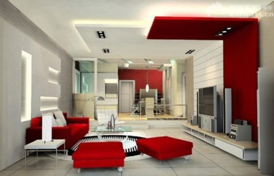 Exceptional Red Living Room Ideas Great Pictures