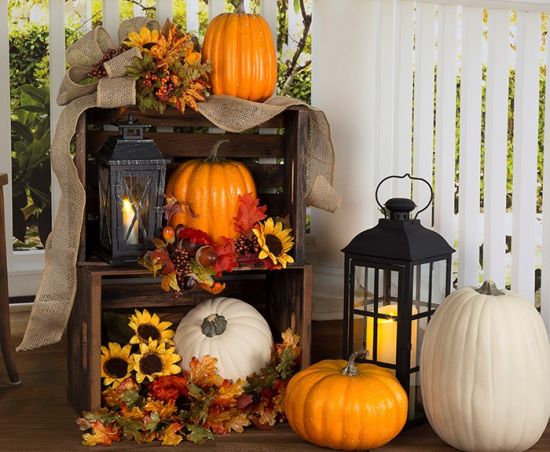 Front porch decorating ideas for fall ultimate home ideas Fall home decorating ideas diy