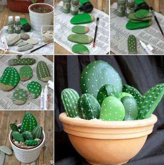 Painted Garden Stones: 50 Garden Decorating Ideas Using Rocks And Stones