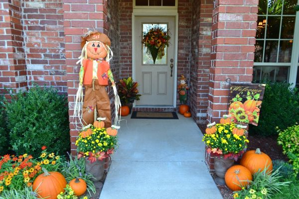 Fall Decorating Ideas & Front Porch Decorating Ideas For Fall | Ultimate Home Ideas