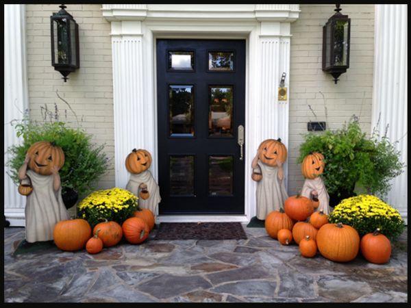 Fall Exterior Decorating Ideas