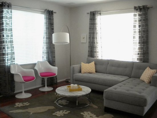 Curtains Ideas curtains for a gray room : Sheer Curtain Ideas For Living Room | Ultimate Home Ideas