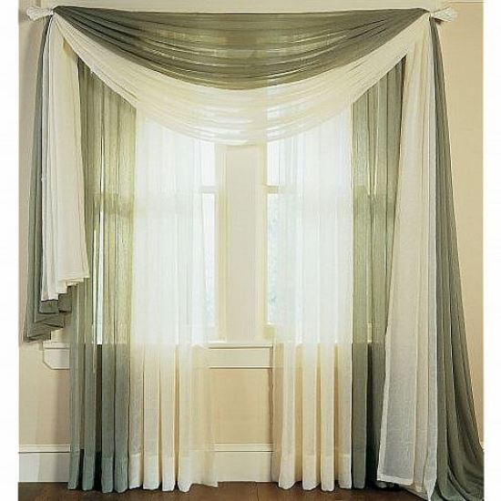Cute Sheer curtain designs