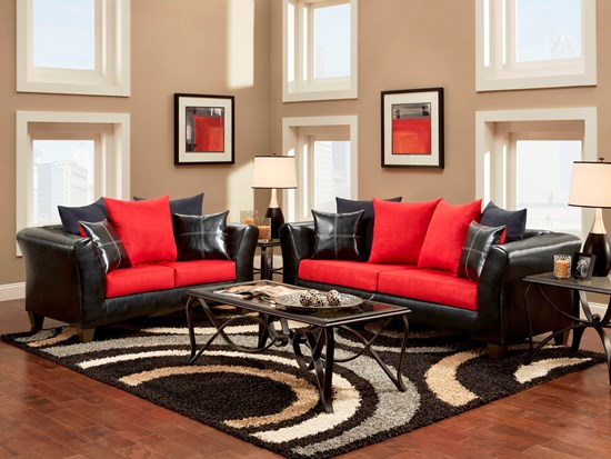 Living Room Decor With Red Sofa 51 red living room ideas | ultimate home ideas