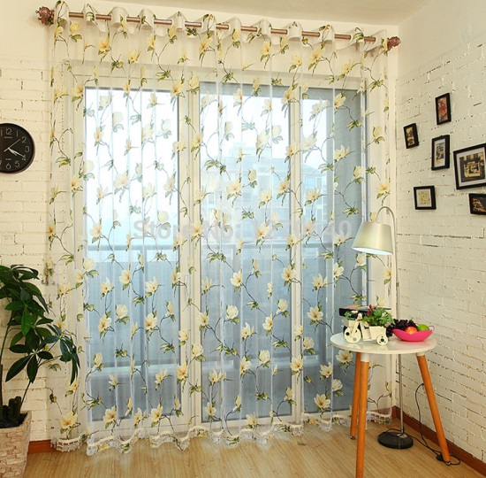 Sheer curtain designs