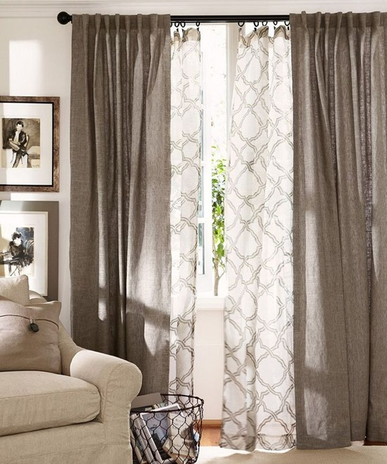 Sheer Curtain Ideas For Living Room, Sheer Curtains For Living Room