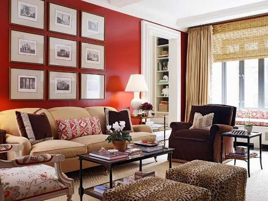 Living Room Paint Ideas Red 51