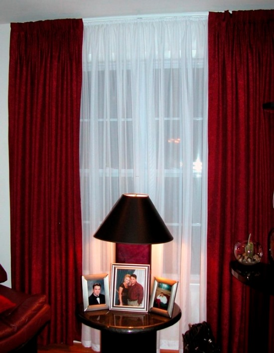 Attirant Sheer Window Curtain Ideas