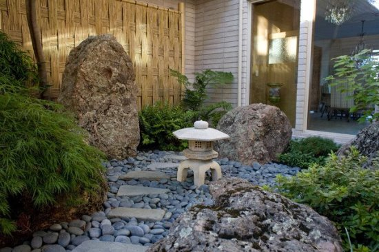 50 garden decorating ideas using rocks and stones for Small rock garden designs