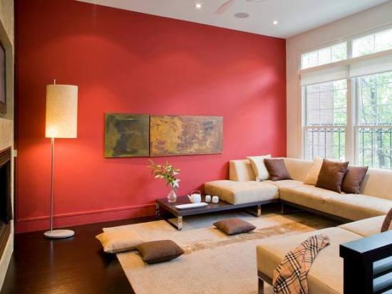 Living Room Accent Wall 51 red living room ideas | ultimate home ideas