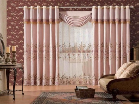 Sheer curtain ideas for living room ultimate home ideas - Latest curtains designs for living room ...