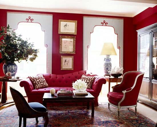 Perfect 51 Red Living Room Ideas Ultimate Home