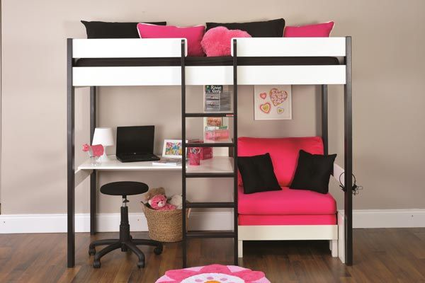 bunk bed with single futon 1
