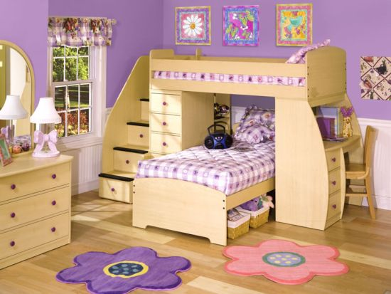 Lovely Kids Bunk Beds