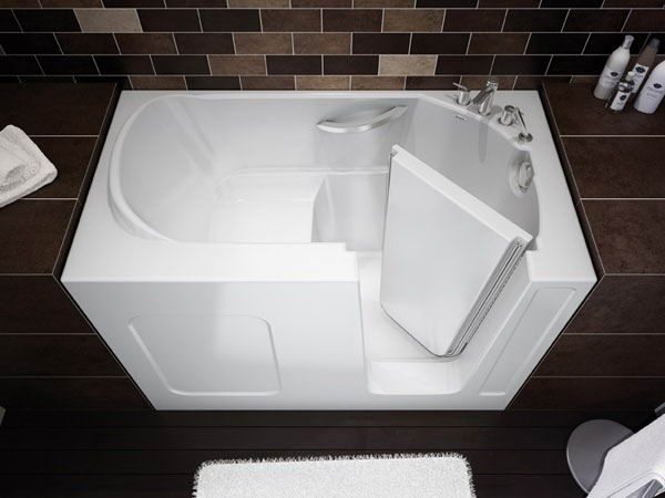 21 smart space saving ideas ultimate home ideas for Tiny house walk in tub