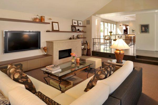 Sunken Living Rooms