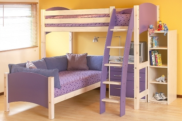 45 bunk bed ideas with desks ultimate home ideas Teenage girl bedroom furniture for sale