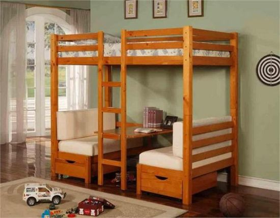 45 bunk bed ideas with desks ultimate home ideas Couch bunk bed ikea