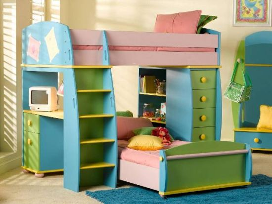Simple Kids Bunk Beds